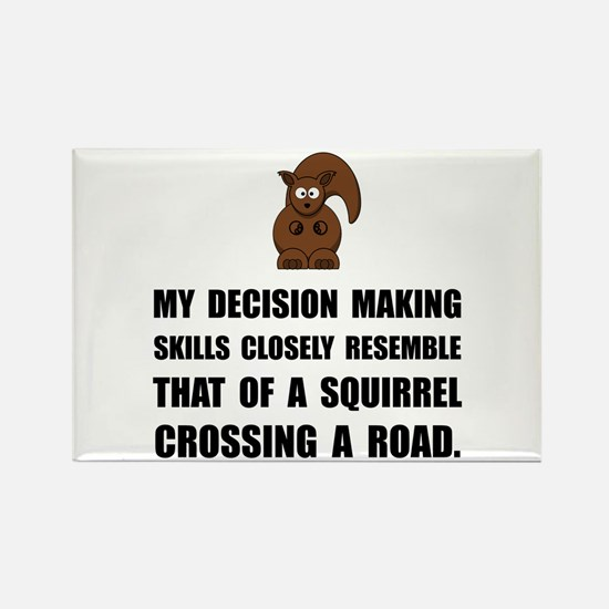 Decision Making Squirrel Magnets