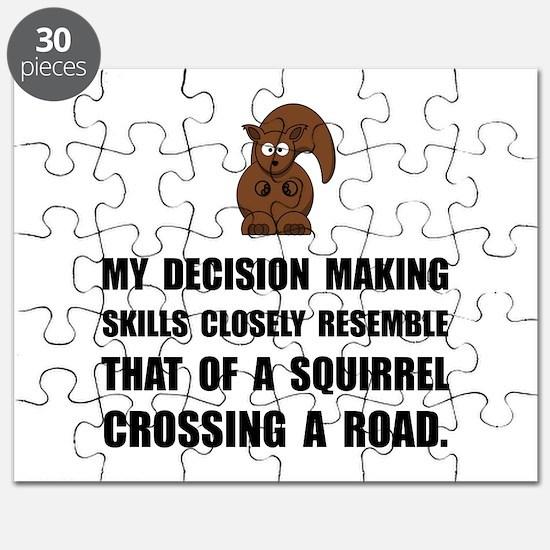 Decision Making Squirrel Puzzle