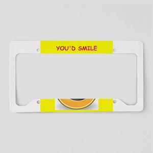 scottish License Plate Holder