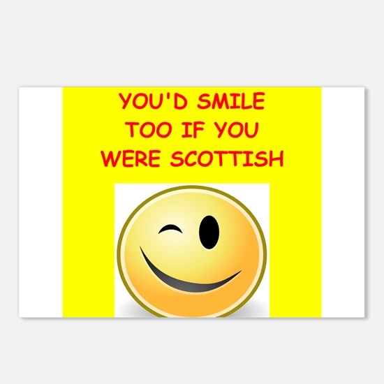 scottish Postcards (Package of 8)