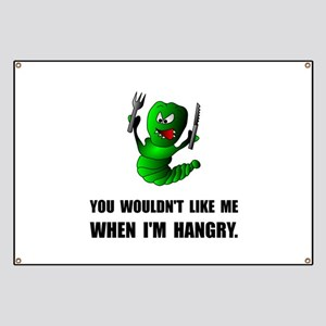 Hangry Monster Banner
