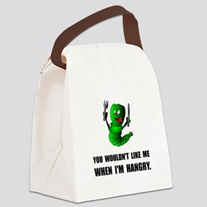 Hangry Monster Canvas Lunch Bag