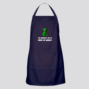 Hangry Monster Apron (dark)