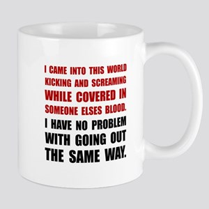 Kicking Screaming Mugs