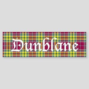 Tartan - Dunblane dist. Sticker (Bumper)