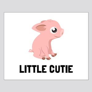 Little Cutie Pig Posters