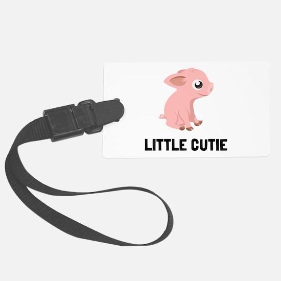Little Cutie Pig Luggage Tag