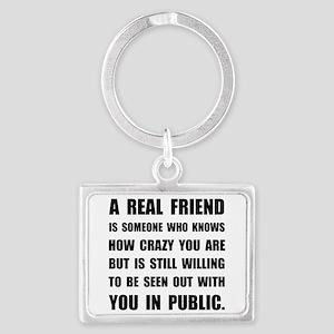 Real Friend Crazy Keychains