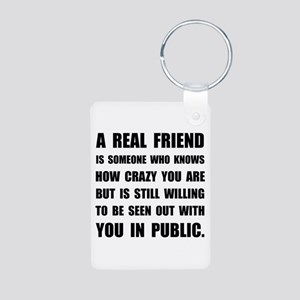 Real Friend Crazy Keychains