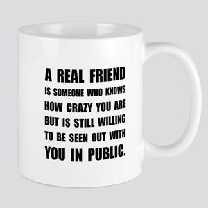 Real Friend Crazy Mugs