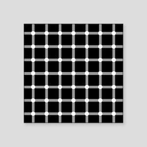 Scintillating Grid optical illusion Sticker