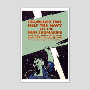 WIRELESS FANS poster 11x17