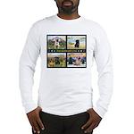 4 Seasons with a Pug Long Sleeve T-Shirt