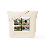 4 Seasons with a Pug Tote Bag