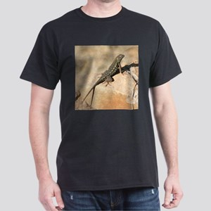 Sunning Lizard in California Dark T-Shirt
