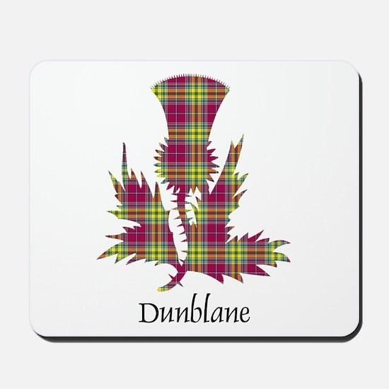 Thistle - Dunblane dist. Mousepad