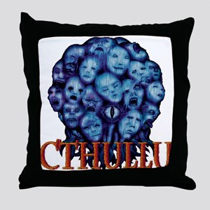 Cthullu Is Lord Throw Pillow