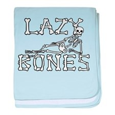 Lazy Bones baby blanket