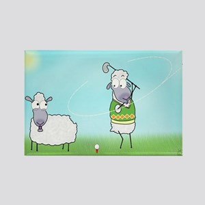 Golf Sheep Magnets