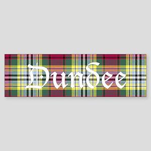 Tartan - Dundee dist. Sticker (Bumper)