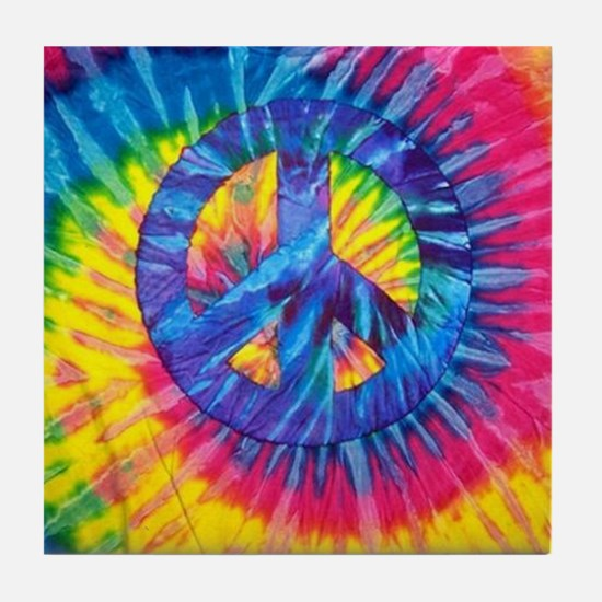 Cute Hippy Tile Coaster