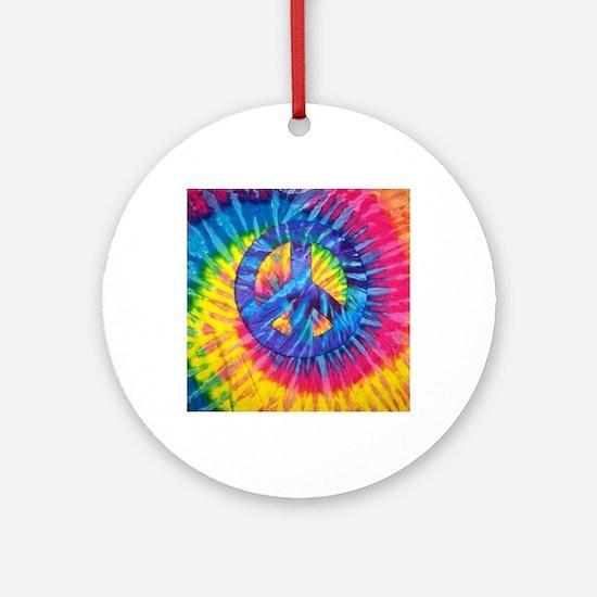 Cute Dye Round Ornament