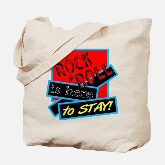 Rock And Roll Is here Tote Bag