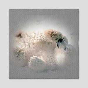 Baby polar bear Queen Duvet