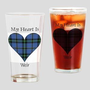 Heart-Weir Drinking Glass