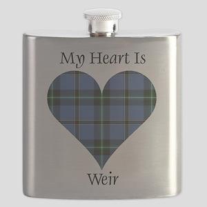 Heart-Weir Flask