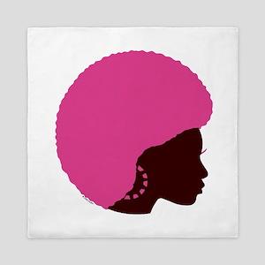 Pink_afro Queen Duvet