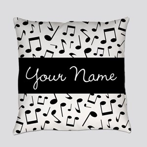Personalized Music Notes Master Pillow