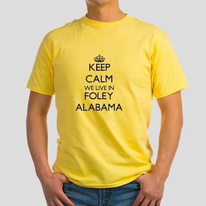 Keep calm we live in Foley Alabama T-Shirt