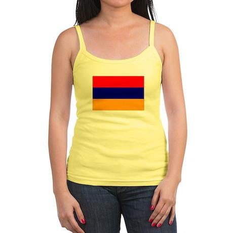 Armenia Flag Jr. Spaghetti Tank