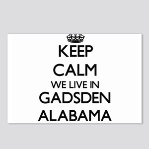 Keep calm we live in Gads Postcards (Package of 8)