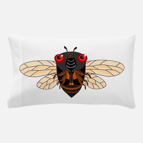 Cute Cartoon Cicada Pillow Case
