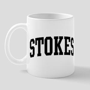 STOKES (curve-black) Mug