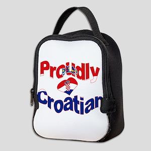 Proudly Croatian Neoprene Lunch Bag