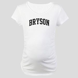 BRYSON: retired not expired Maternity T-Shirt