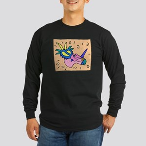 Triceratops Face Long Sleeve T-Shirt