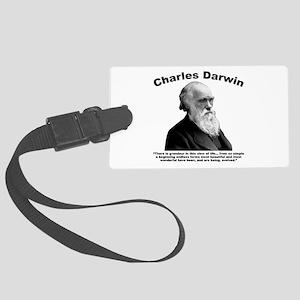 Darwin: Evolved Large Luggage Tag