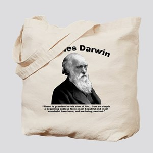 Darwin: Evolved Tote Bag