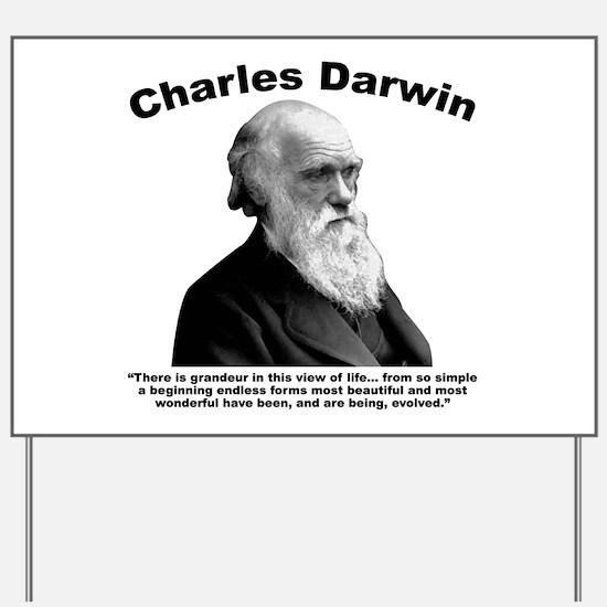 Darwin: Evolved Yard Sign