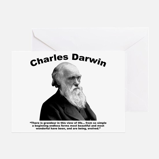 Darwin: Evolved Greeting Card