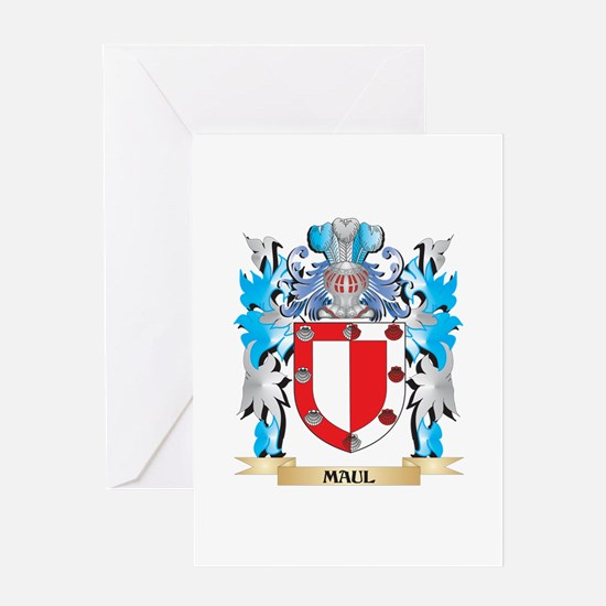 Maul Coat of Arms - Family Crest Greeting Cards