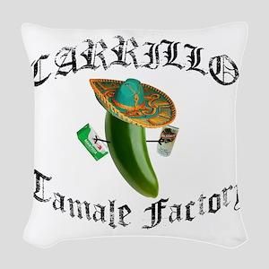 CARILLO light Woven Throw Pillow