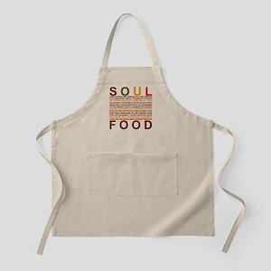 Soul_food_all_wt Apron