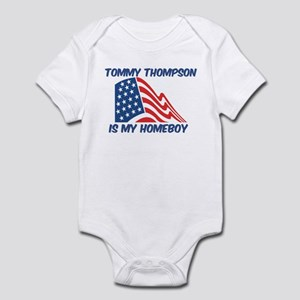 TOMMY THOMPSON is my homeboy Infant Bodysuit