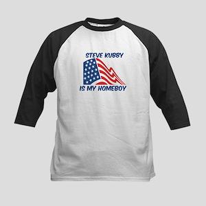 STEVE KUBBY is my homeboy Kids Baseball Jersey