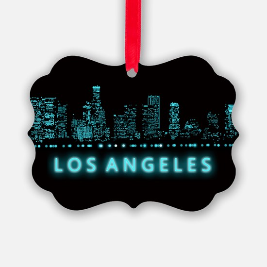 Digital Cityscape: Los Angeles, C Ornament
